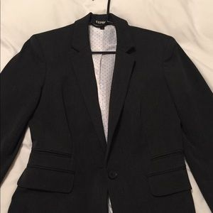 Express gray suit jacket women's new size 6